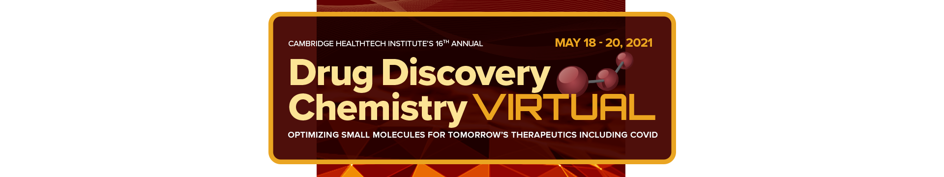 Drug Discovery Chemistry Banner Image